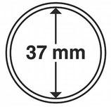 MÜNZKAPSELN CAPS 37 MM für z. B. Wiener Philharmoniker Gold 1 Oz