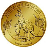 Känguru- eine Feinunze