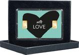 With Love mit zwei Goldbarren ab 0,5 g  -  M11G2