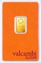 Goldbarren 2,5 Gramm 999,9