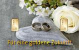 Für eine goldene Zukunft mit zwei Goldbarren ab 0,10 Gramm M3G2