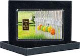 Frohe Ostern mit einem Goldbarren ab 0,50 g -Ostereier am Zaun- M4G1