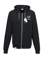WILD IN THE STREETS Zipper (heather black) L