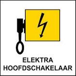 Pictogram Hoofdschakelaar Elektra