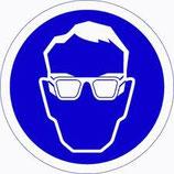 Pictogram Veiligheidsbril Verplicht