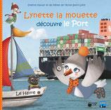 Lynette la mouette découvre le port du Havre