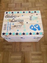 Erinnerungsbox gross Geburtsdaten