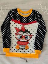 Pullover mit Unterteilung