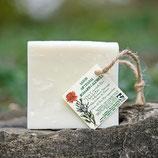 Savon solide Romarin et Calendula 100 g - Paysans savonniers