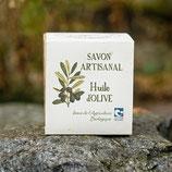 Savon solide Pur Olive bloc de 400 g - Paysans savonniers