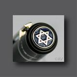 Schreibgerät mit Logo Judentum