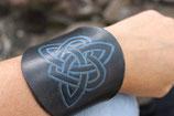"""bracelet """"trinité"""" bleu"""