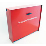 FW-Laufkartendepot / Laufkartenkasten A4 mit integriertem E-Öffner