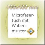 Hochwertiges Microfasertuch mit Firmenlogo