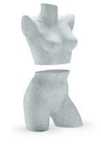 Damen Torso 2-teilig mit Schulteransatz