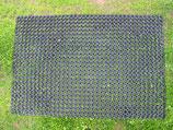 Rasenschutzmatten aus Gummi schwarz