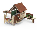 Spielhaus Entdecker Tobi