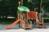 Kleinkind-Spielgerät 7 Geislein V²A-Rutsche