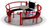 Rollstuhlkarussell / Inklusionskarussell