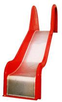GFK-Rutschen mit Edelstahlrutschbelag Podesthöhe 120-195 cm