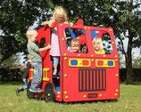 Spielhaus Feuerwehrauto