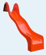 GFK-Anbaurutsche mit Welle/n Podesthöhe 150-200 cm
