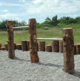 Edelstahlreckstange 80 - 150 cm Breite