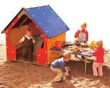 Spielhaus Standard mit Matschtisch