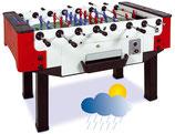 Wetterfester Outdoor-Kicker Storm F-3 mit Münzeinwurf, durchgehende Stangen