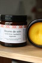 beurre de soin Baobab & Argousier