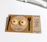 Handmade Jam Cookie Earrings