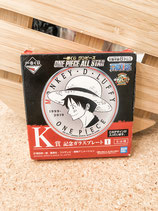 """ONE PIECE"" Luffy Glass Plate"