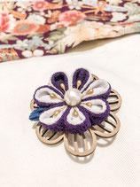Tsumami Flower Brooch
