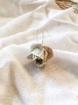 Handmade Origami Rose Kanzashi