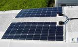 Solarmodul flach biegsam