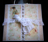 SCRAP - MODELO MINI ALBUM 02 - ESTILO VINTAGE