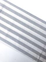 Tischdecke Linen and More Hellgrau Stripe