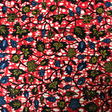 SAFRIKA Tragetuch casual flowers red