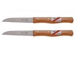 Windmühle - Küchenmesser aus Solinger Carbonstahl 2er Sparpaket - grade Klinge