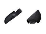 Schutzkappen Set aus Leder mit Druckknopf für Nagelzangen/Kopfschneider/Hautzangen und Eckenschneider