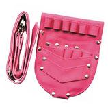 Scherentasche- pink mit Nieten
