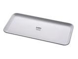 Instrumententablett - Aufbewahrungsschale- Auslageplatte - weiß - aus Melamin