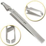 Zeckenzange 13,5 cm - breitem oder schmalem Design erhältlich!