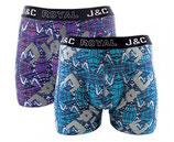 J&C bliksem boxer 2-PACK