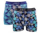 J&C limoen boxer 2-PACK