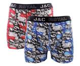 J&C marmer boxer 2-PACK