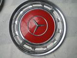 Mercedes Radkappe Chrom 14 Zoll signalrot 568 W123 W107 R107 W114 W116 W126