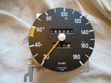 Mercedes Tachometer Tacho Speedometer 1235424801 180 km/h 300D 300CD 300TD 300TDT W123