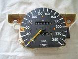 Mercedes Tacho Speedometer Tachometer 1265423901 W126 240 km/h 380SEC 380SE 500SEC 500SE W126