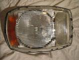 Mercedes Scheinwerfer H1 Bosch Headlight Headlamp 1158200261 1158205161 selten gewölbte Streuscheibe W114 W115 /8 Coupe